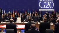 En la Primera Sesión de Trabajo de la Cumbre de Líderes del G20. Foto: Notimex.