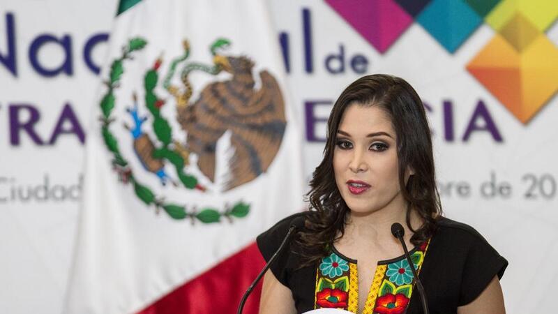 La comisionada presidenta del INAI, Ximena Puente de la Mora (Foto: Cuarto Oscuro)
