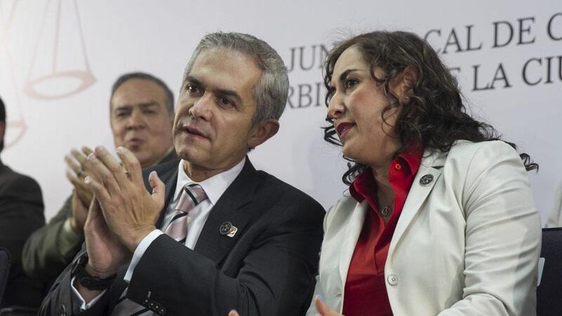 Margarita Darlene Rojas Olvera, presidenta de la Junta Local de Conciliación y Arbitraje de la CDMX. (Foto: Cuartoscuro)
