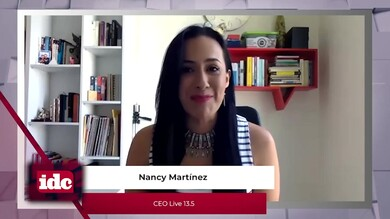 con Nancy Martínez CEO de Live 13.5