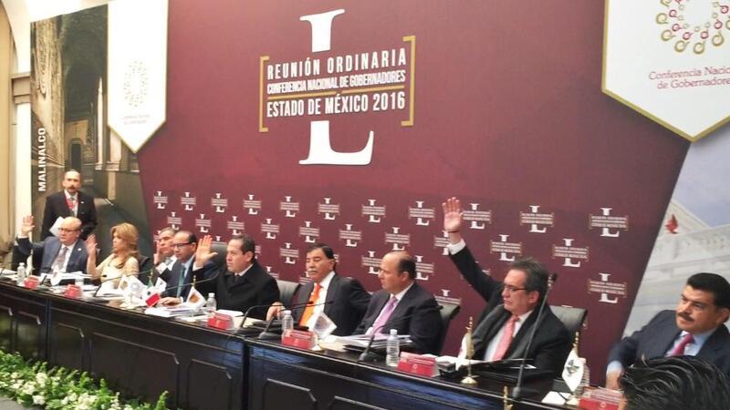 (Foto: Comunicado de la Conferencia Nacional de Gobernadores)