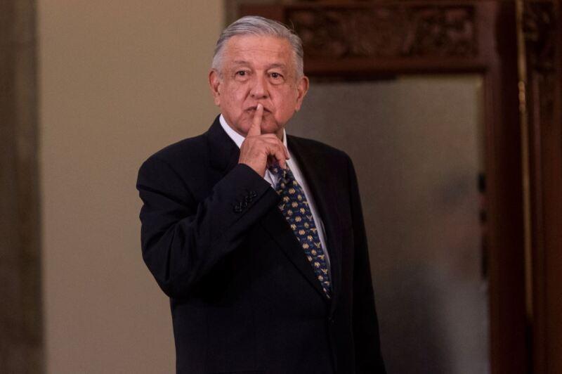 Conferencia mañanera de Andrés Manuel López Obrador, presidente de México, en Palacio Nacional, en donde se trató el tema de ma renuncia de Carlos Urzúa a la Secretaría de Hacienda