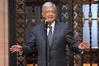 Andrés Manuel López Obrador dio un mensaje el martes en Palacio Nacional tras reunirse con el presidente Peña Nieto.