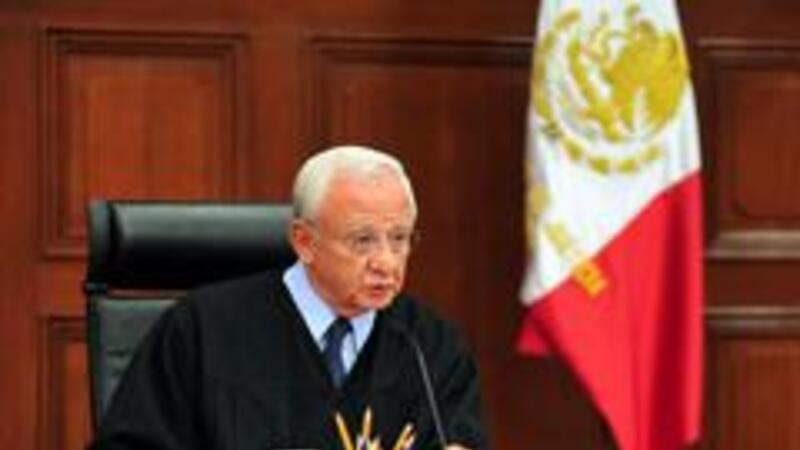 Ministro Juan Silva Meza, presidente de la SCJN (Foto: Archivo Notimex)