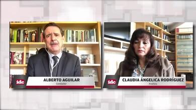 con Claudia Angélica Rodríguez