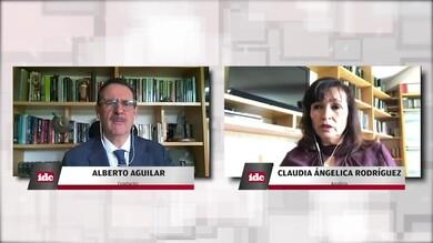 con la analista Claudia Angélica Rodríguez
