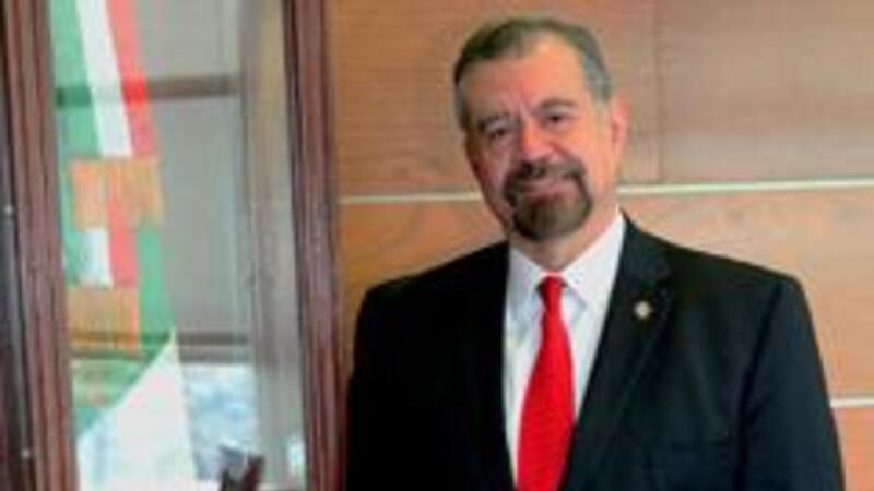 Manuel Luciano Hallivis Pelayo, nuevo magistrado presidente del TFJFA (foto: comunicación social TFJFA)