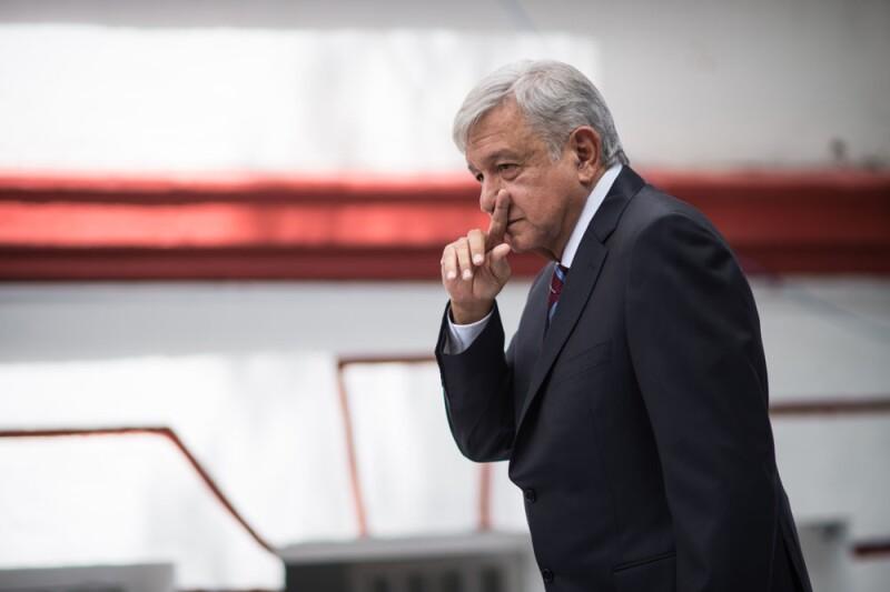 Andrés Manuel López Obrador tomará posesión el próximo 1 de diciembre.