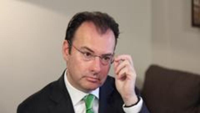 Luis Videgaray Caso, secretario de Hacienda de México (Foto: Diego Macías / CNN México)