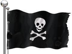 Bajan ataques piratas