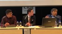 Gerardo Esquivel, asesor económico del candidato presidencial de Morena, sostuvo un encuentro con alumnos del CIDE