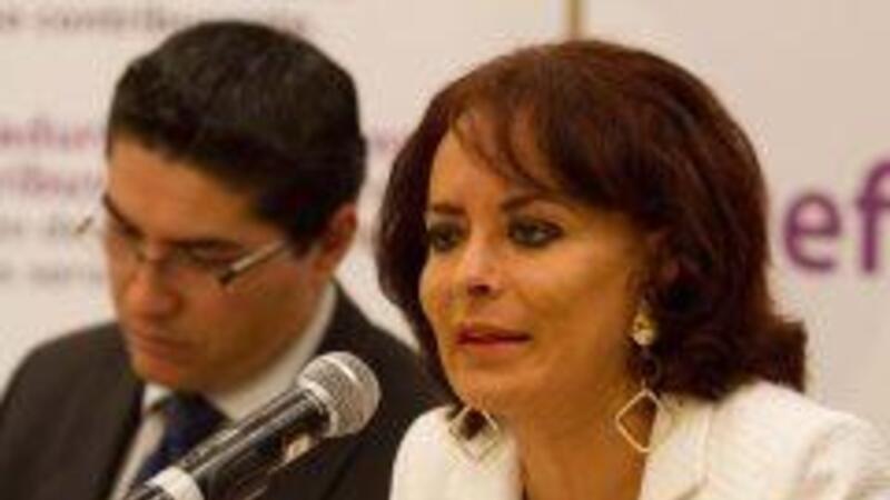 La titular de la Prodecon, Diana Bernal Ladrón de Guevara (Foto: Notimex)