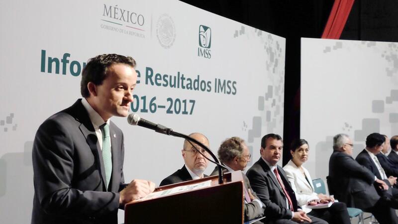 El director general del Instituto Mexicano del Seguro Social, Mikel Arriola