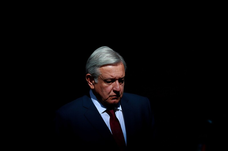 El presidente, Andrés Manuel López Obrador rindió su informe trimestral de gobierno.