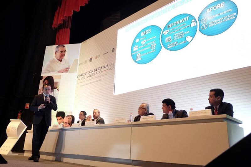 El titular del IMSS, Mikel Arriola (Foto: Comunicación Social IMSS)
