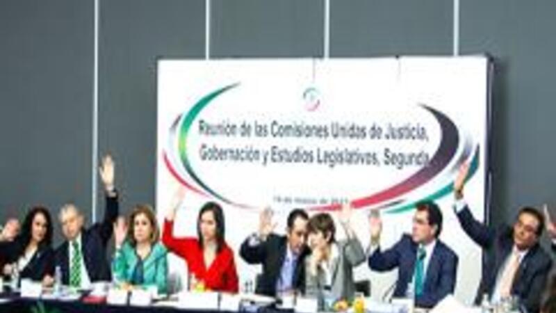 Comisiones del Senado aprueban minuta de la nueva Ley de Amparo