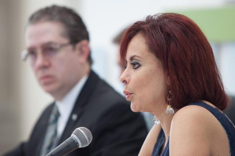 Tras ocho años como procuradora Diana Bernal Ladrón de Guevara, dejó el puesto.