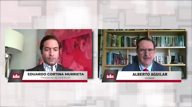 con Eduardo Cortina Murrieta Presidente de AMEXCAP