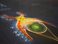 El nuevo aeropuerto de la Ciudad de México (Foto: Comunicación presidencia)