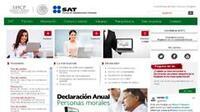 No funcionan varios servicios del sitio web del SAT
