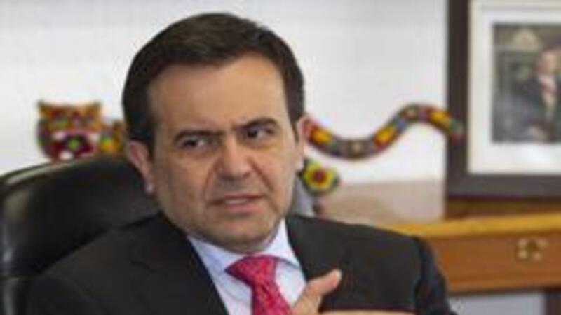 Secretario de Economíam Ildefonso Guajardo Villarreal, (Foto: Notimex)