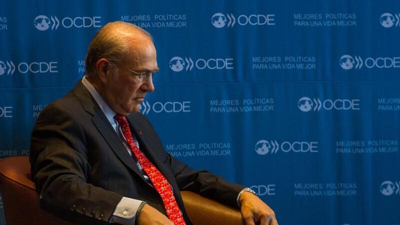 El secretario general de la ODC, Ángel Gurría (Foto: Cuarto Oscur)
