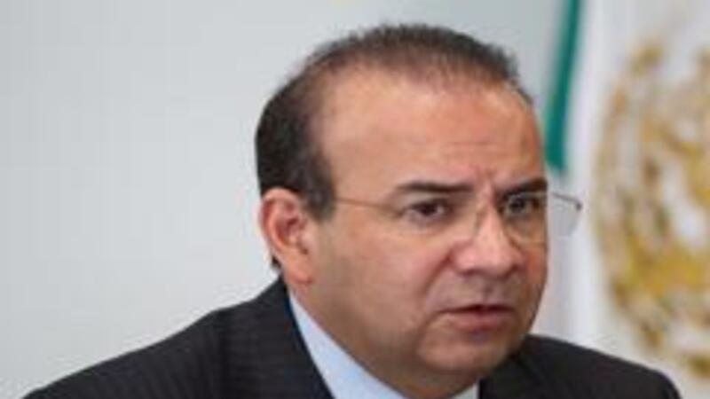 Alfonso Navarrete Prida, secretario del Trabajo (Foto: Notimex)
