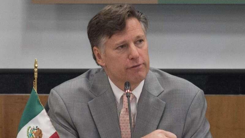 Christopher Landau, embajador de Estados Unidos en México
