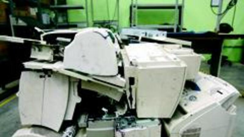 Aproveche desperdicios de mercancía importada