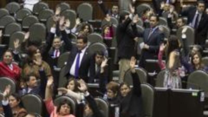 Las tres principales bancadas en el Congreso, aún no terminan por definir sus posturas de la iniciativa hacendaria (Foto: Notimex)