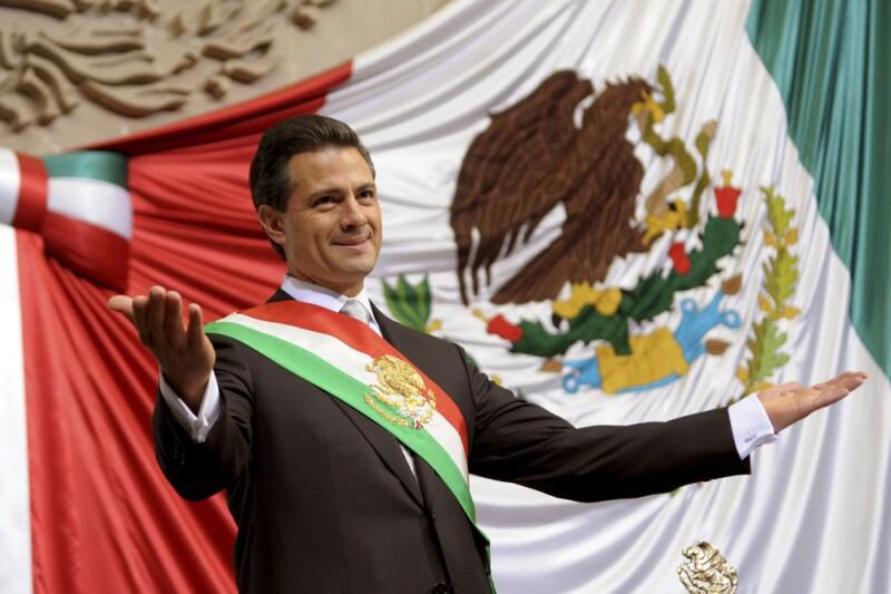 El presidente Enrique Peña Nieto