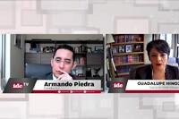 con Guadalupe Hinojosa socia de RAH abogados