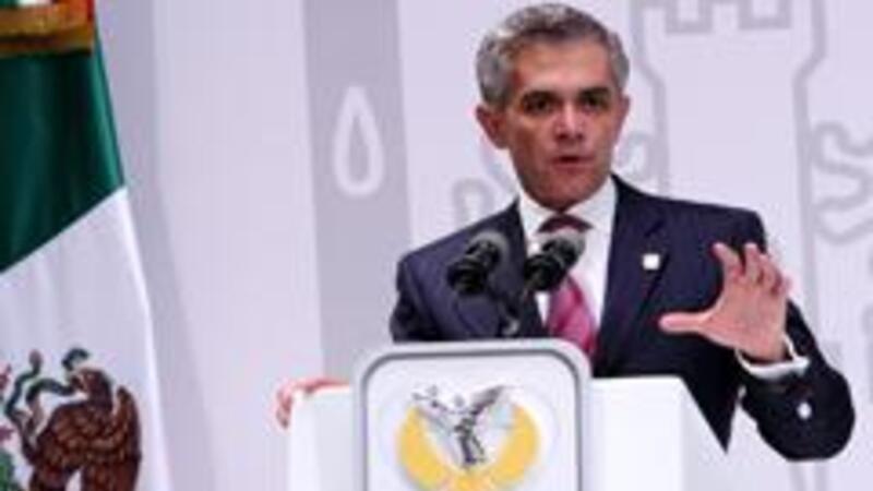 El jefe de gobierno, Miguel Ángel Mancera (Foto: Notimex)