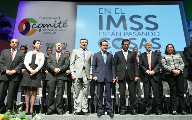 (Foto: Sala de Prensa del IMSS)