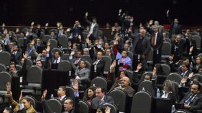 Los diputados aprobaron la propuesta (Notimex)