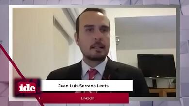 con Juan Luis Serrano Leets