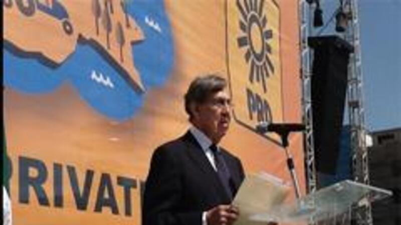 Cuautémoc Cárdenas (Foto: Twitter PRD)