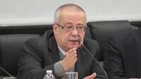 El secretario de Hacienda, Carlos Urzúa, durante la ratificación de su cargo en la Cámara de Diputados