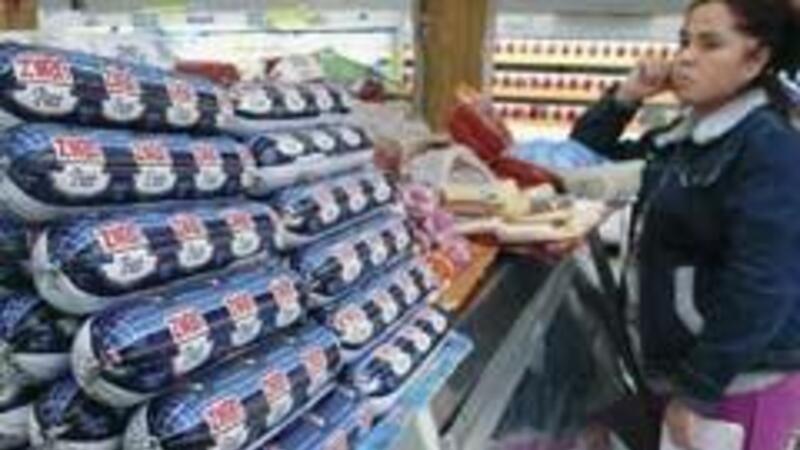 Consumidores del DF afectados por la inflación en alimentos