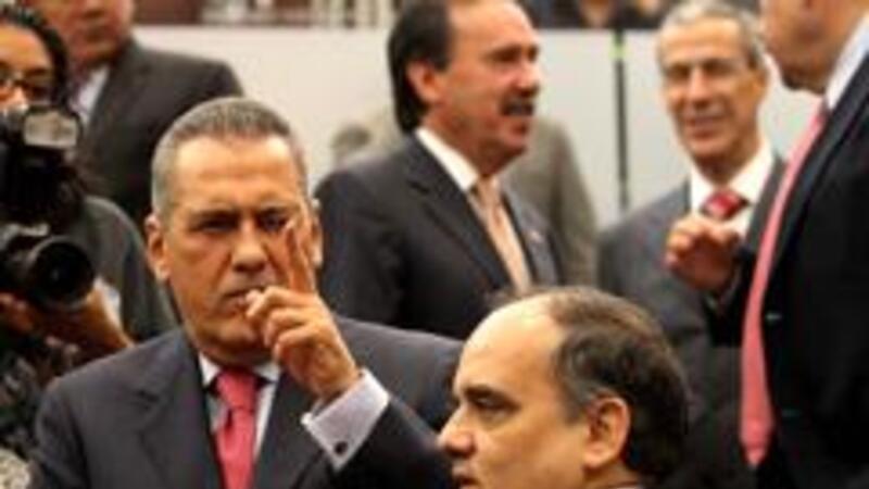 El coordinarod priista de la Cámara de Diputados, Manlio Fabio Beltrones (Foto Notimex)
