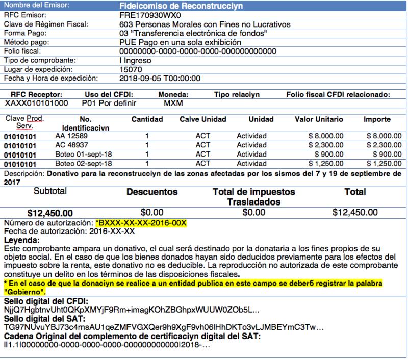b052d52d77ff Nuevos lineamientos para CFDI por donativos | IDC