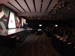 Raúl Beyruti, presidente de GIN Group, durante la presentación del Foro IDC Rumbo al nuevo sexenio.