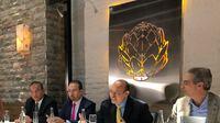 Raúl Beyruti, presidente de GIN Group, durante la presentación de su libro Teoría de la Administración Integral del Capital Humano
