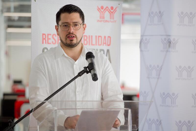 Carlos Martínez Velázquez, titular del Infonavit
