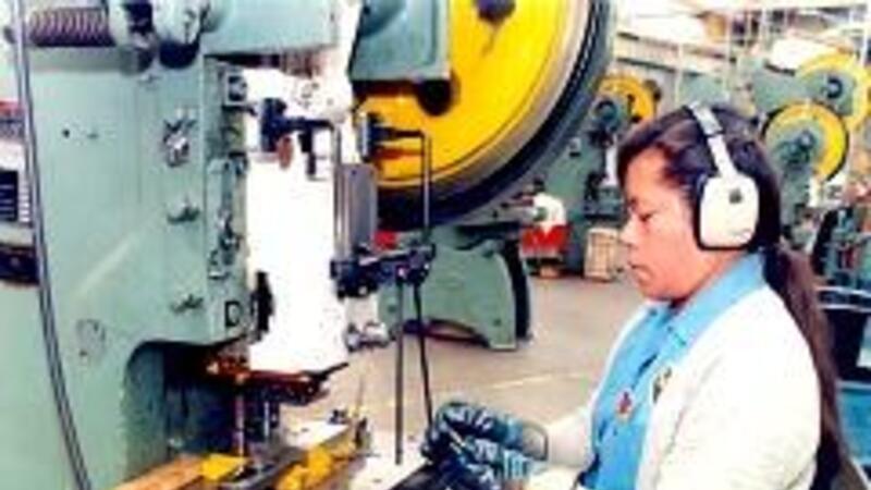 Incremento de pedidos manufactureros