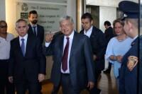 Andrés Manuel López Obrador, candidato a la presidencia de la república por la coalición Juntos Haremos Historia, sostuvo una reunión con el Consejo Mexicano de Negocios.