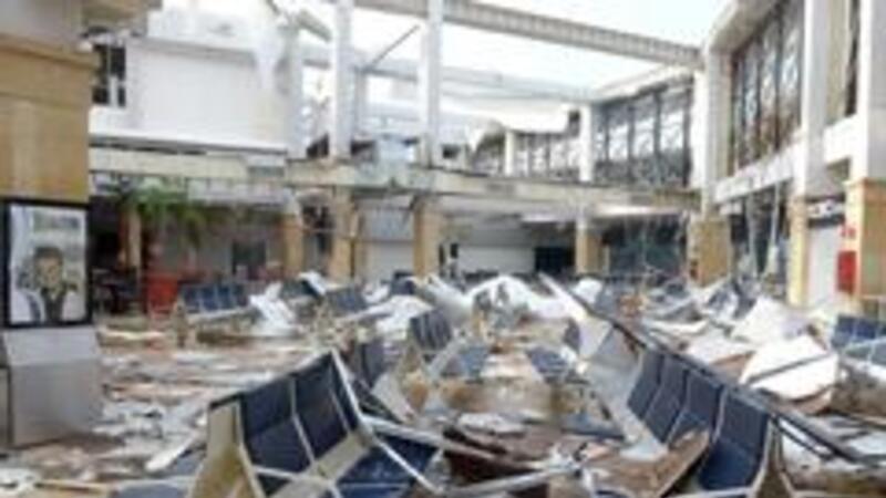 """Zonas afectadas por el huracán """"Odile"""" (Foto: Notimex)"""