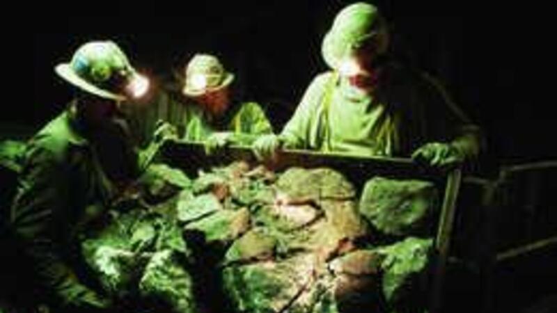 Exportación de minerales de hierro