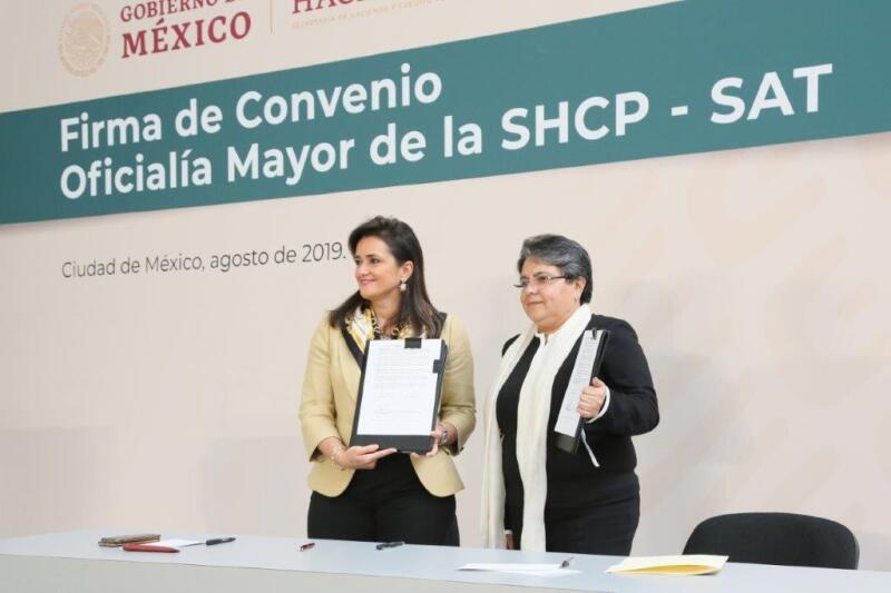 Convenio realizado entre el SAT y la Secretaria de Hacienda.