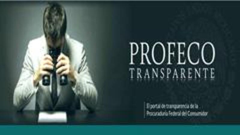 Portal de Transparencia de Profeco